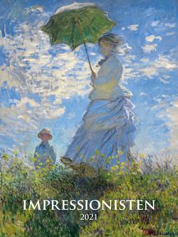 Impressionisten 2021 – Bild-Kalender 42×56 cm – Impressionists – Kunst-Kalender – Wand-Kalender – Malerei – Alpha Edition