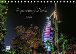 Impressions of Dubai 2019 (Tischkalender 2019 DIN A5 quer)
