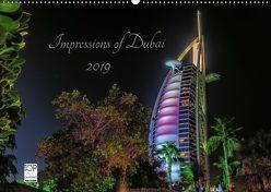 Impressions of Dubai 2019 (Wandkalender 2019 DIN A2 quer) von Sielaff,  Marcus