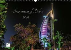 Impressions of Dubai 2019 (Wandkalender 2019 DIN A3 quer) von Sielaff,  Marcus