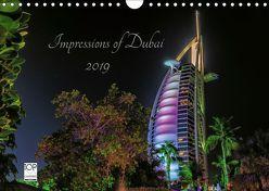 Impressions of Dubai 2019 (Wandkalender 2019 DIN A4 quer) von Sielaff,  Marcus