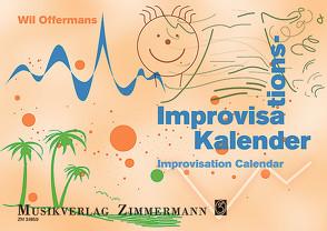 Improvisations-Kalender von Offermans,  Wil