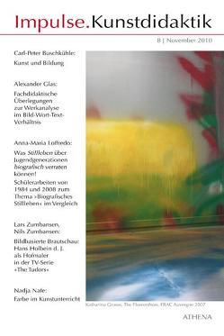 Impulse.Kunstdidaktik / Impulse.Kunstdidaktik von Bering,  Kunibert, Buschkühle,  Carl-Peter, Glas,  Alexander, Loffredo,  Anna-Maria, Nafe,  Nadja, Niehoff,  Rolf, Zumbansen,  Lars