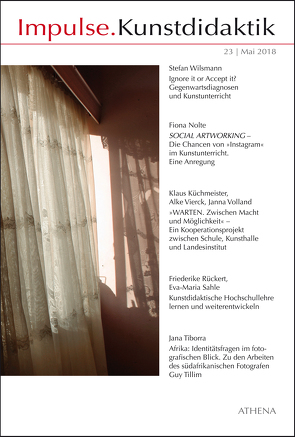 Impulse.Kunstdidaktik / Impulse.Kunstdidaktik 23 von Bering,  Kunibert, Niehoff,  Rolf, Nolte,  Fiona, Tiborra,  Jana, Wilsmann,  Stefan