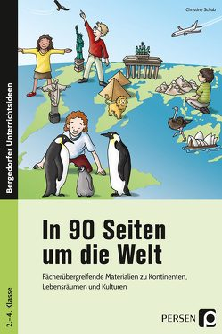In 90 Seiten um die Welt von Schub,  Christine
