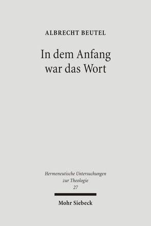 In dem Anfang war das Wort von Beutel,  Albrecht