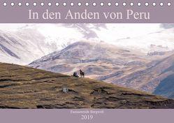 In den Anden von Peru – Fazinierende Bergwelt (Tischkalender 2019 DIN A5 quer) von Drews,  Marianne