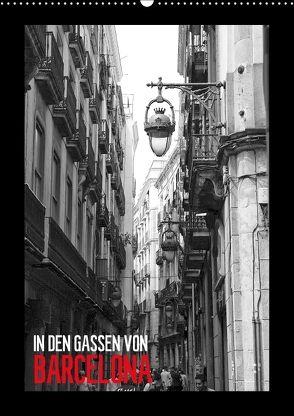 In den Gassen von Barcelona (Wandkalender 2018 DIN A2 hoch) von Meutzner,  Dirk