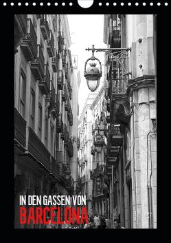 In den Gassen von Barcelona (Wandkalender 2020 DIN A4 hoch) von Meutzner,  Dirk