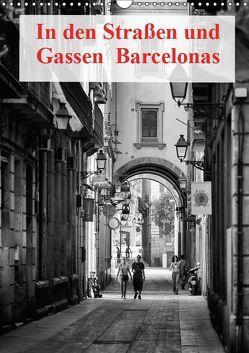 In den Straßen und Gassen Barcelonas (Wandkalender 2019 DIN A3 hoch) von Klesse,  Andreas