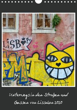 In den Straßen und Gassen von Lissabon 2020 (Wandkalender 2020 DIN A4 hoch) von Heinemann,  Holger
