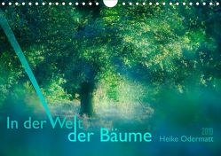 In der Welt der Bäume (Wandkalender 2019 DIN A4 quer) von Odermatt,  Heike