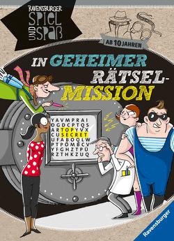 In geheimer Rätsel-Mission ab 10 Jahren von Conte,  Dominique, Große-Holtforth,  Isabel