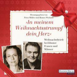 """""""In meinem Weihnachtsstrumpf dein Herz"""" von Baumann,  Christian, Michelsen,  Claudia, Müller,  Petra, Striesow,  Devid, Wieland,  Rainer"""