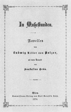 In Mußestunden von Polzer,  Ludwig von