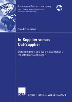 In-Supplier versus Out-Supplier von Luthardt,  Sandra