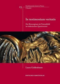 In testimonium veritatis von Goldenbaum,  Laura