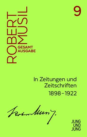 In Zeitungen und Zeitschriften I von Fanta,  Walter, Musil,  Robert