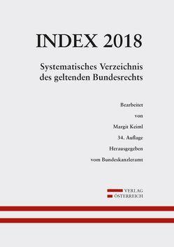Index Bundesrecht 2018 von Keiml,  Margit