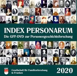 Index Personarum 2020 von Gesellschaft für Familienforschung in Franken