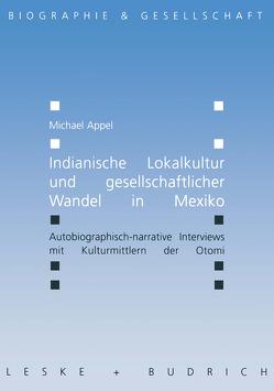Indianische Lokalkultur und gesellschaftlicher Wandel in Mexiko von Appel,  Michael