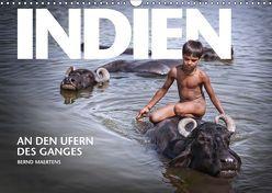 INDIEN An den Ufern des Ganges (Wandkalender 2019 DIN A3 quer) von Maertens,  Bernd