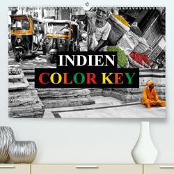 Indien Colorkey (Premium, hochwertiger DIN A2 Wandkalender 2020, Kunstdruck in Hochglanz) von Buchspies,  Carina