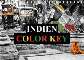 Indien Colorkey (Tischkalender 2018 DIN A5 quer) von Buchspies,  Carina