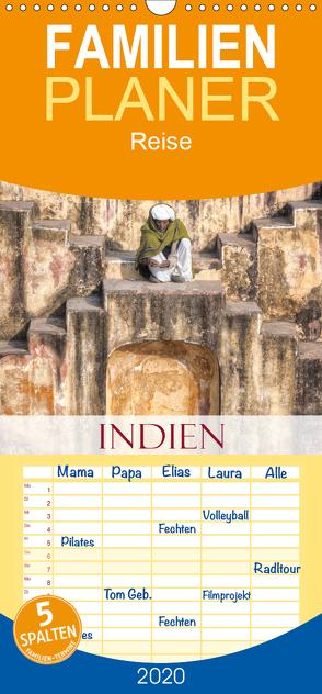 Indien – Eine Fotoreise vom Norden bis in den Süden – Familienplaner hoch (Wandkalender 2020 , 21 cm x 45 cm, hoch) von Kruse,  Joana