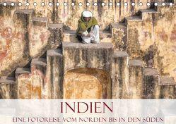 Indien – Eine Fotoreise vom Norden bis in den Süden (Tischkalender 2019 DIN A5 quer)