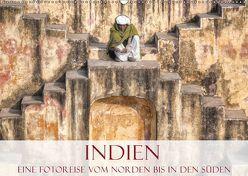 Indien – Eine Fotoreise vom Norden bis in den Süden (Wandkalender 2019 DIN A2 quer) von Kruse,  Joana