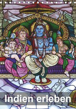 Indien erleben (Tischkalender 2019 DIN A5 hoch) von Rudolf Blank,  Dr.