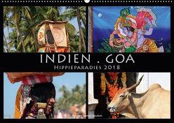 Indien . Goa . Hippieparadies (Wandkalender 2018 DIN A2 quer) von Gerner-Haudum ansichtssachen.de,  Gabriele