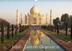 Indien – Land der Gegensätze (Wandkalender 2018 DIN A3 quer) von Prediger,  Rosemarie