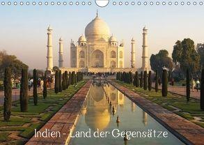 Indien – Land der Gegensätze (Wandkalender 2018 DIN A4 quer) von Prediger,  Rosemarie