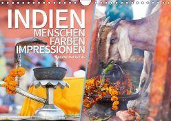 INDIEN Menschen Farben Impressionen (Wandkalender 2019 DIN A4 quer)
