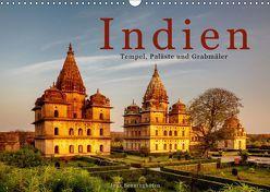 Indien: Tempel, Paläste und Grabmäler (Wandkalender 2019 DIN A3 quer) von Benninghofen,  Jens