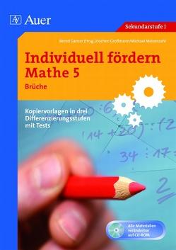 Individuell fördern Mathe 5 Brüche von Ganser,  Bernd, Großmann, Meisenzahl