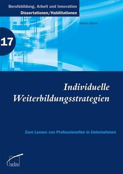 Individuelle Weiterbildungsstrategien von Böhm,  Stefan