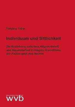 Individuum und Sittlichkeit von Tidre,  Polyana