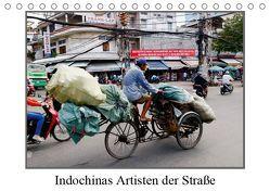 Indochinas Artisten der Straße (Tischkalender 2019 DIN A5 quer) von Becker,  Bernd