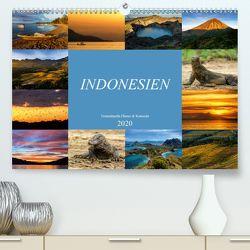 Indonesien – Inselparadies Flores & Komodo (Premium, hochwertiger DIN A2 Wandkalender 2020, Kunstdruck in Hochglanz) von Schaenzer,  Sandra