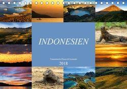 Indonesien – Inselparadies Flores & Komodo (Tischkalender 2018 DIN A5 quer) von Schaenzer,  Sandra