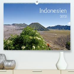 Indonesien (Premium, hochwertiger DIN A2 Wandkalender 2021, Kunstdruck in Hochglanz) von Leonhardy,  Thomas