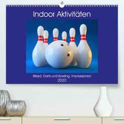 Indoor Aktivitäten. Billard, Darts und Bowling. Impressionen (Premium, hochwertiger DIN A2 Wandkalender 2020, Kunstdruck in Hochglanz) von Hurley,  Rose