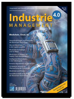 Industrie 4.0 Management 1/2020 von Gronau,  Norbert