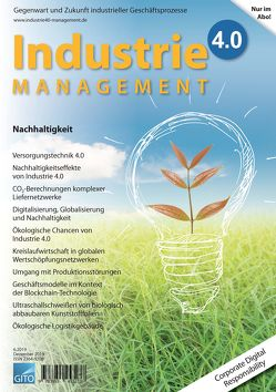 Industrie 4.0 Management 6/2019 von Gronau,  Norbert