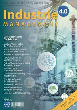 Industrie 4.0 Management 6/2017 von Scholz-Reiter,  Bernd