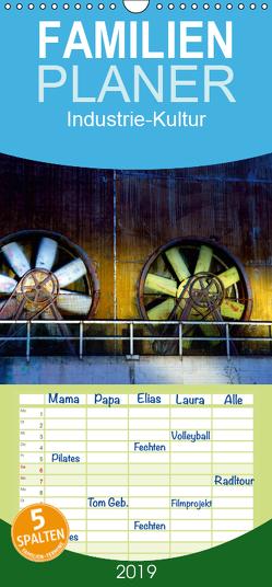 Industrie-Kultur – Familienplaner hoch (Wandkalender 2019 , 21 cm x 45 cm, hoch) von Brehm,  Frank