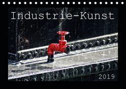 Industrie-Kunst 2019 (Tischkalender 2019 DIN A5 quer) von Hebgen,  Peter